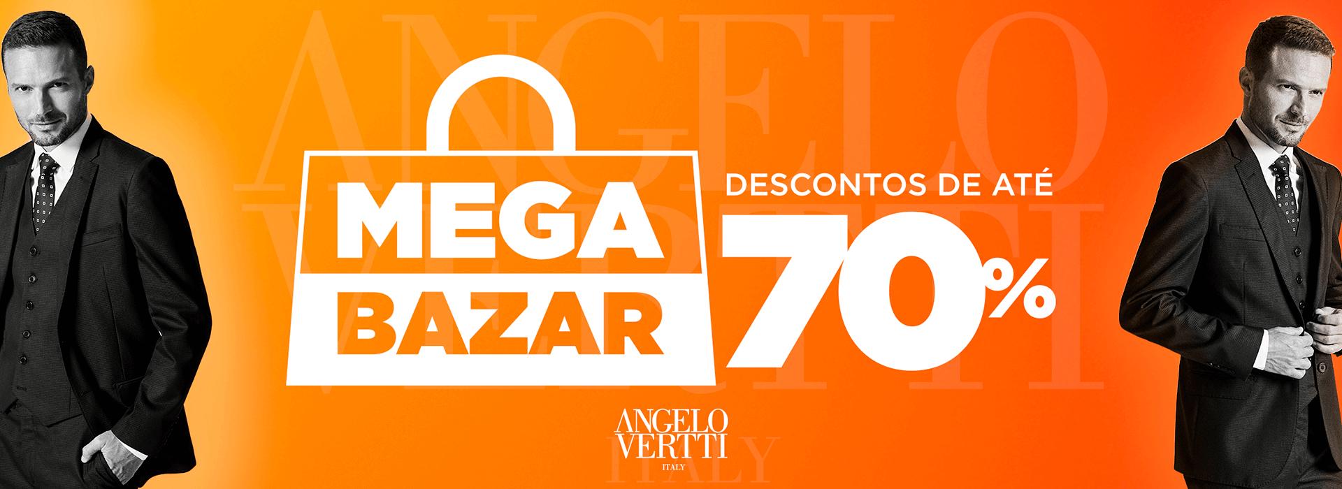 Mega Bazar Angelo Vertti - Descontos de até 70%